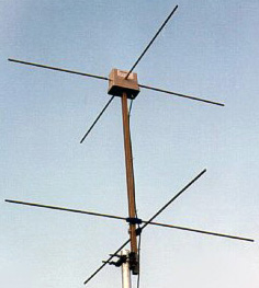 KX-137 NOAA weather satellite antenna