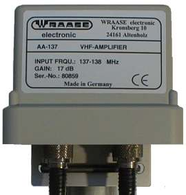 AA-137 Weather Satellite Amplifier